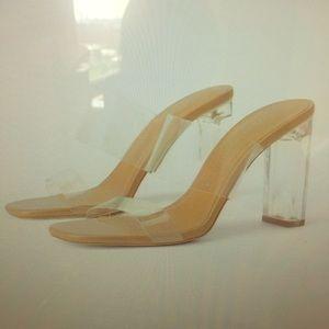 Zara clear sandal